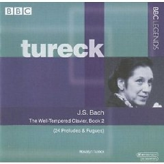 J.S. Bach - The Well Tempered Clavier, Book 2 CD 3