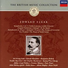 The British Music Collection - Edward Elgar CD 4