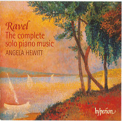 Ravel - The Complete Solo piano music CD 2