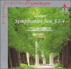 Brahms Symphonies 3 & 4