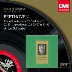 Beethoven Piano Sonatas Nos. 21 - 24, 25, 27 & 30 - 32  CD 1 - Arthur Schnabel
