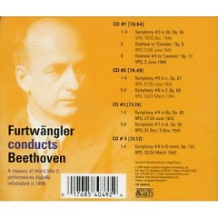 Furtwangler Conducts Beethoven - The Best Of The World War II Legacy CD 2
