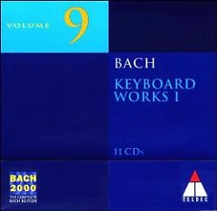 Bach 2000 Vol 9 - Keyboard Works I Audio CD 7