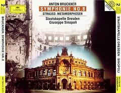 Bruckner - Symphonie No. 8; Strauss - Metamorphosen CD 1