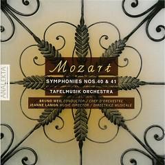 Mozart - Symphonies No. 40 & 41