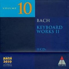 Bach 2000 Vol 10 - Keyboard Works II Audio CD 10