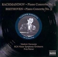 Horowitz - Beethoven Piano Concerto No. 5 Rachmaninov Piano Concerto No. 3