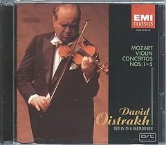 Mozart Volin Concertos CD 2