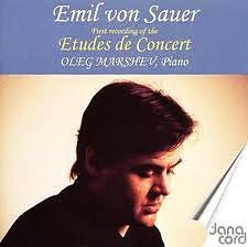 Emil Von Sauer Complete Piano Music CD 1 Etudes De Concert  No. 2 - Oleg Marshev