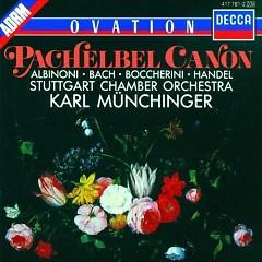 Pachelbel Canon - Karl Munchinger,Stuttgart Chamber Orchestra