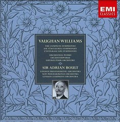 Vaughan Williams - The Complete Symphonies & Orchestral Works CD 7 - Adrian Boult,London Philharmonic Orchestra,London Symphony Orchestra