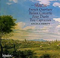 Bach - Italian Concerto, French Overture, Four Duets, Two Capriccios CD 1