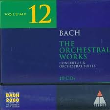 Bach 2000 Vol 12 - The Orchestral Works CD 10