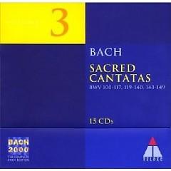 Bach 2000 Vol 3  - Sacred Cantatas CD 13 No. 1