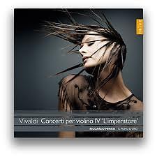 Vivaldi - Concerto per violino IV L'Imperatore CD 1