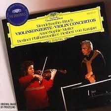 Mendelssohn & Bruch Violin Concertos - Anne Sophie Mutte,Herbert von Karajan,Berlin Philharmonic Orchestra
