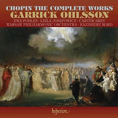 Garrick Ohlsson - Chopin The Complete Works CD 16 No. 1 - Garrick Ohlsson,Carter Brey,Leila Josefowicz,Warsaw Philharmonic Orchestra