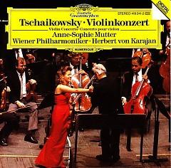 Tschaikowsky - Violinkonzert - Anne Sophie Mutte,Herbert von Karajan,Wiener Philharmoniker