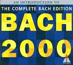 Bach 2000 The Complete Bach Edition CD 1