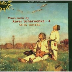 Xaver Scharwenka, Seta Tanyel ‎– Piano Music Vol 4 No. 3