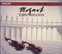 Complete Mozart Edition Vol 13 - String Trios & Duos CD 2