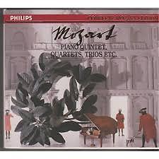 Complete Mozart Edition Vol 14 - Piano Quintets, Quartets, Trios, Etc CD 1