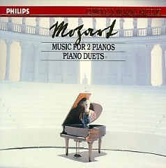Complete Mozart Edition Vol 16  - Music For Two Pianos, Piano Duets CD 2