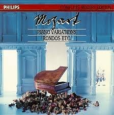 Complete Mozart Edition Vol 18 - Piano variations, Rondos etc CD 1