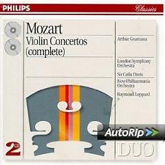 Mozart - Violin Concertos (Complete) CD 1