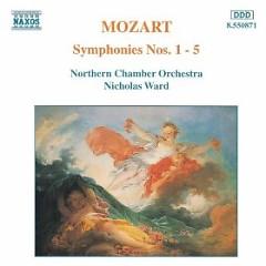 Mozart - Symphonies Nos. 1 - 5