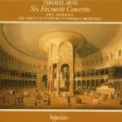 Thomas Arne - Six Favourite Concertos CD 1