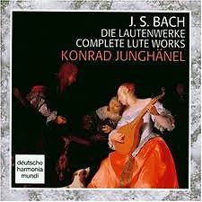 Bach - Die Lautenwerke CD 1 - Konrad Junghanel