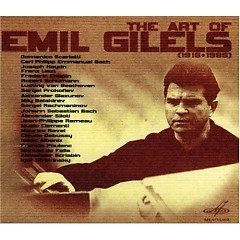 The Art Of Emil Gilels (CD 1)