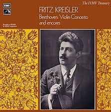 Beethoven - Violin Concerto - Fritz Kreisler