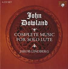Complete Music For Solo Lute CD 1 (No. 1) - Jakob Lindberg