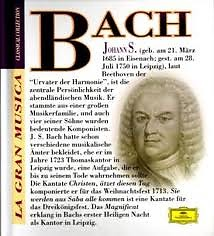 La Gran Musica Collection - Bach (CD 1)