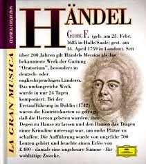 La Gran Musica Collection - Handel (CD 1)