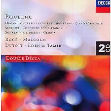 Poulenc - Organ Concerto CD 1 - Pascal Roge,Various Artists