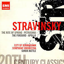 Stravinsky - The Rite Of Spring; Petrushka; The Firebird; Apollo CD 1 (No. 1) - Simon Rattle,City Of Birmingham Symphony Orchestra