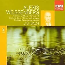 Bach - Goldberg Variations, Partitas CD 2 (No. 3)  - Alexis Weissenberg