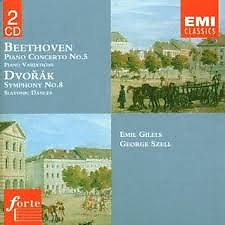 Beethoven - Piano Concerto No. 5; Dvorak - Symphony No. 8 CD 2  - Emil Gilels,George Szell,The Cleveland Orchestra