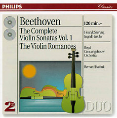 Beethoven - The Complete Violin Sonatas, Vol. 1 CD 1   - Henryk Szeryng,Ingrid Haebler