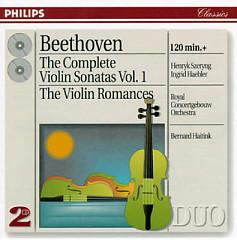 Beethoven - The Complete Violin Sonatas, Vol. 1 CD 2   - Henryk Szeryng,Ingrid Haebler
