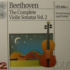 Beethoven - The Complete Violin Sonatas, Vol. 2 CD 1   - Henryk Szeryng,Ingrid Haebler