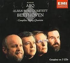Beethoven - Complete String Quartets CD 2 - Alban Berg Quartet