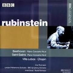 Beethoven - Piano Concertos No. 4, Saint Seans Piano Concertos No. 2 - Zelda Rubinstein,Antal Doráti,BBC Symphony Orchestra