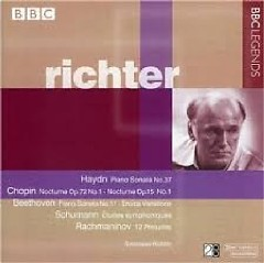 Richter Plays Haydn, Chopin, Beethoven, Schumann, & Rachmaninov CD 1 (No. 1) - Svjatoslav Richter