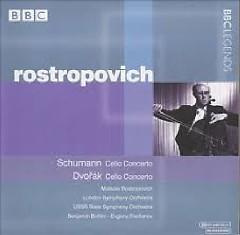 Schumann - Cello Concerto; Dvorák - Cello Concerto - Mstislav  Rostropovich
