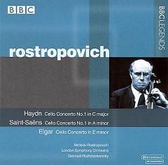 Haydn, Saint Saëns, Elgar - Cello Concertos - Mstislav  Rostropovich