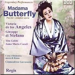 Puccini - Madama Butterfly CD 1 (No. 1) - Gianandrea Gavazzeni,Various Artists